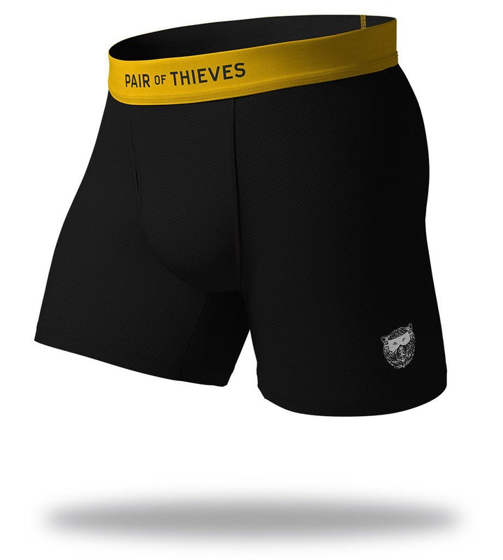 Straight Up Black SuperFit Boxer Briefs