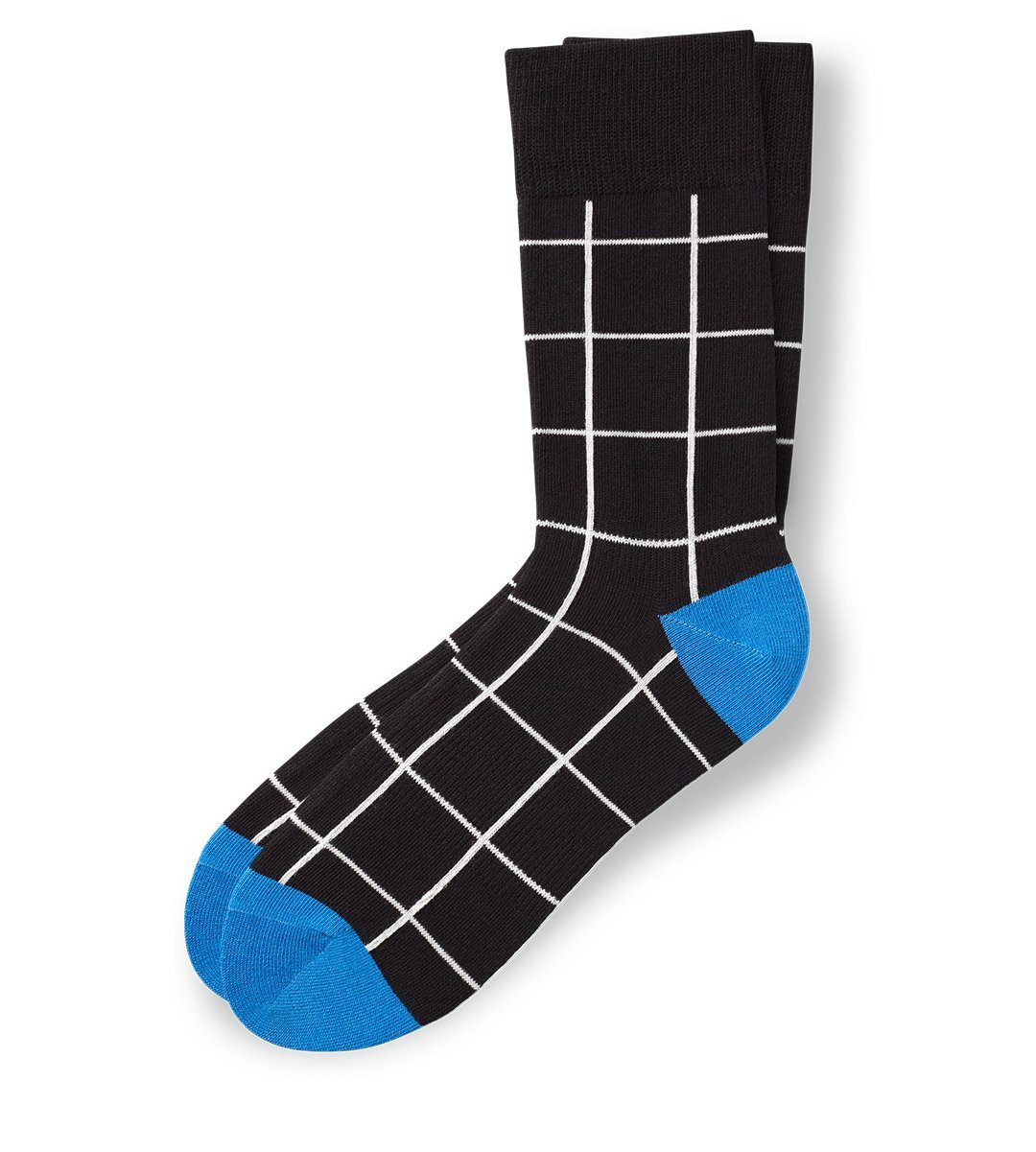 The Grid Men's Crew Socks