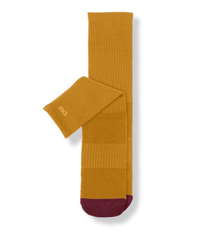 Gold Women's Prism Cushion Crew Socks
