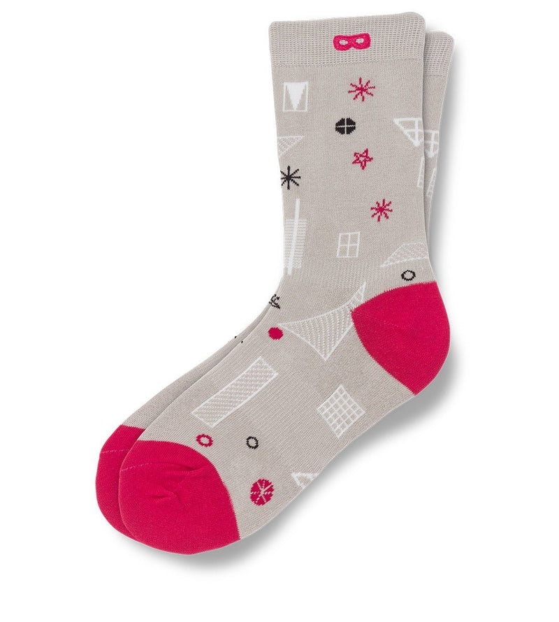 Wake Up Call Women's Crew Socks 3 Pack