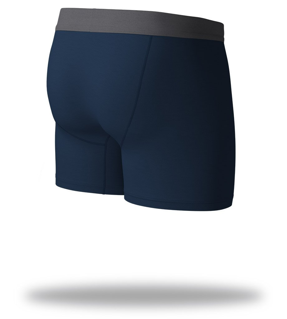 Navy Blue SuperSoft Boxer Briefs