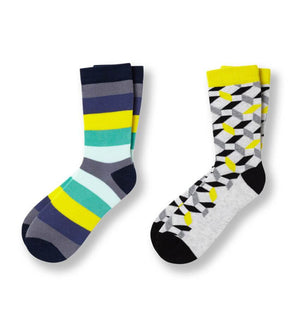 Yellow Is The Warmest Color Kid's Crew Socks 2-pack