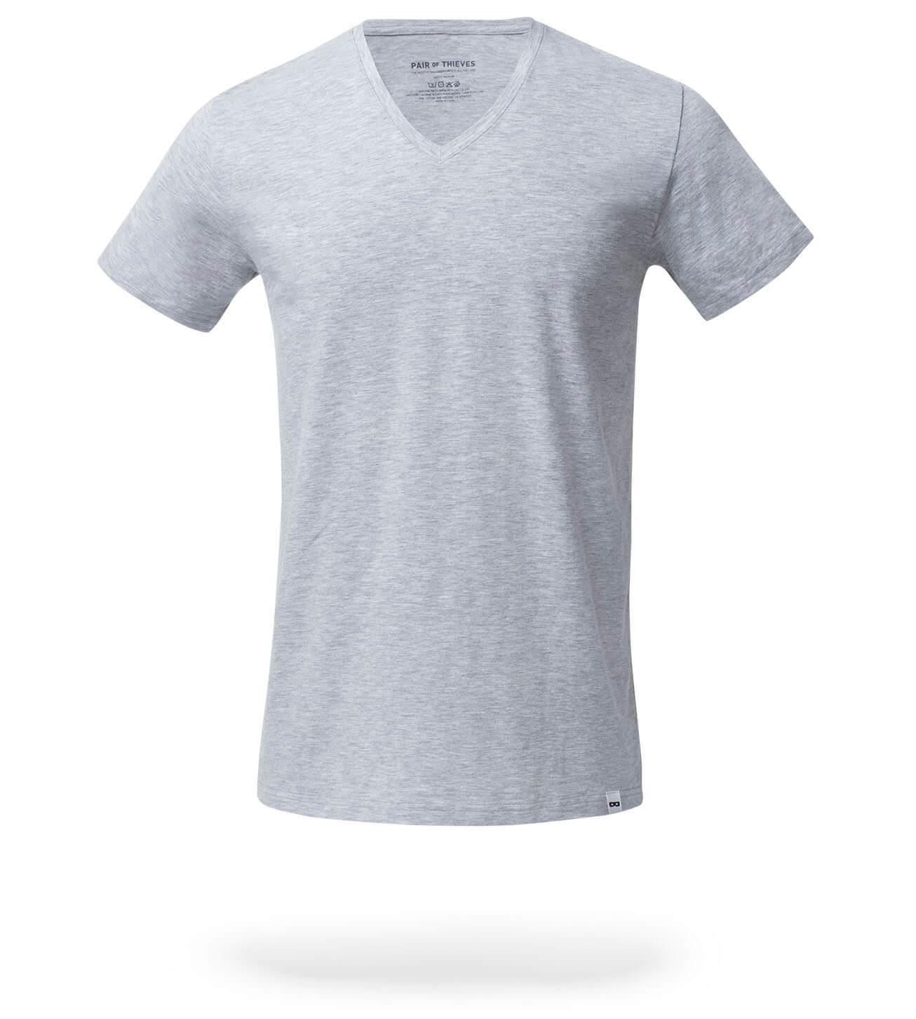 The Solid Colors SuperSoft V-Neck Tee 4 Pack