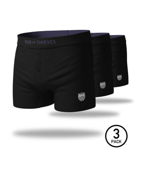 Blackout SuperSoft Slim-Fit Boxers 3 Pack