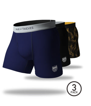 Fresh Edition SuperFit Boxer Briefs 3 Pack