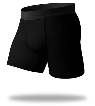 The Solid Gold Black SuperFit Boxer Brief