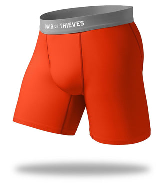 The Solid Tomato Cool Breeze Long Boxer Brief
