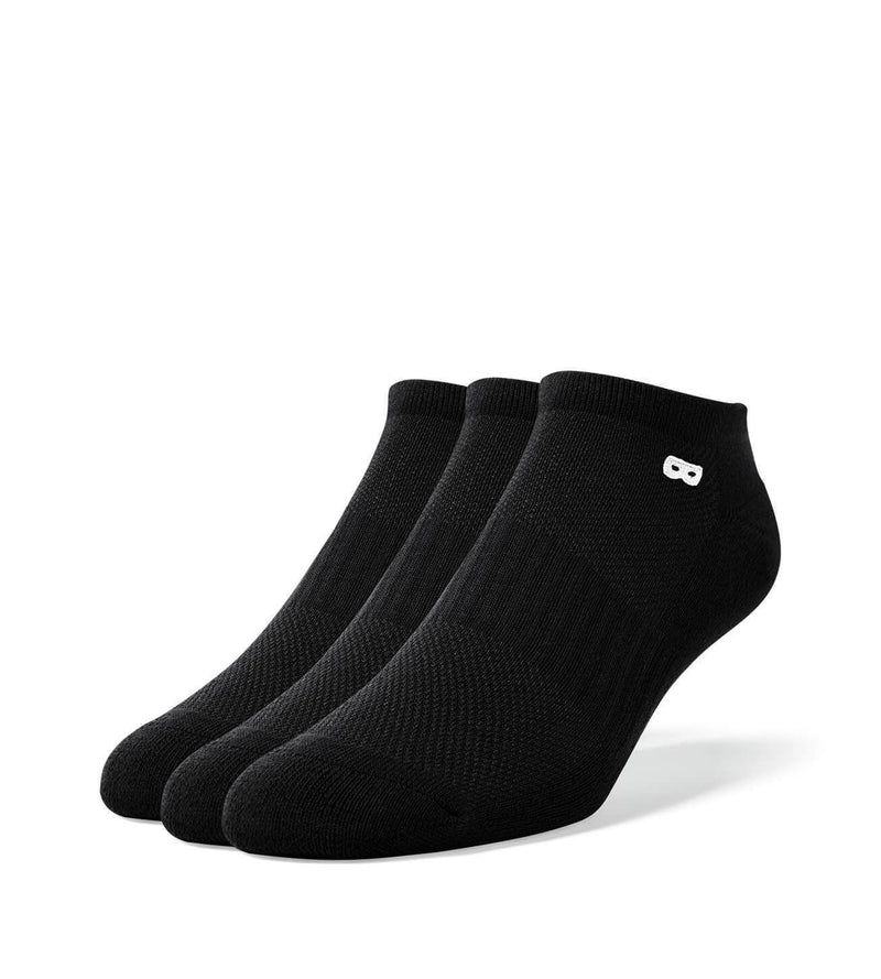 Blackout Women's Low Cut Socks 3 Pack