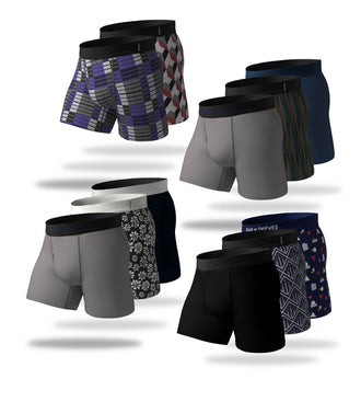 Flash Mob Boss Cool Breeze Boxer Brief 12 Pack