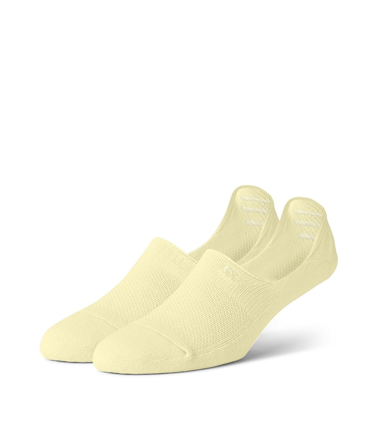 Light Yellow Women's Prism Cushion No Show Socks