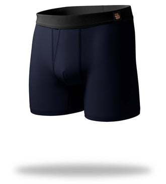 The Solid Gold Navy SuperSoft Boxer Brief