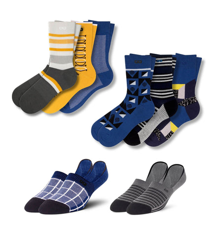 Oy Veight 8 Pack Sock Set