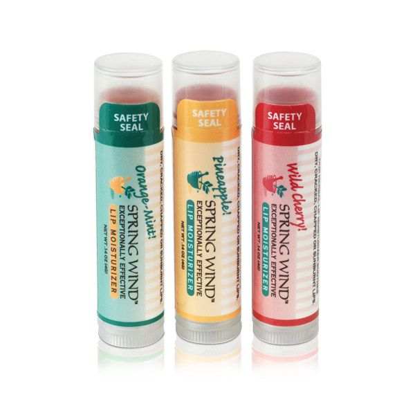 HERBAL LIP MOISTURIZERS - 3 PACK
