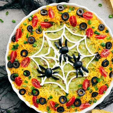 7-Layer Spiderweb Dip