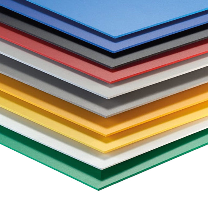 Assorted Color Komatex PVC 5 Packs