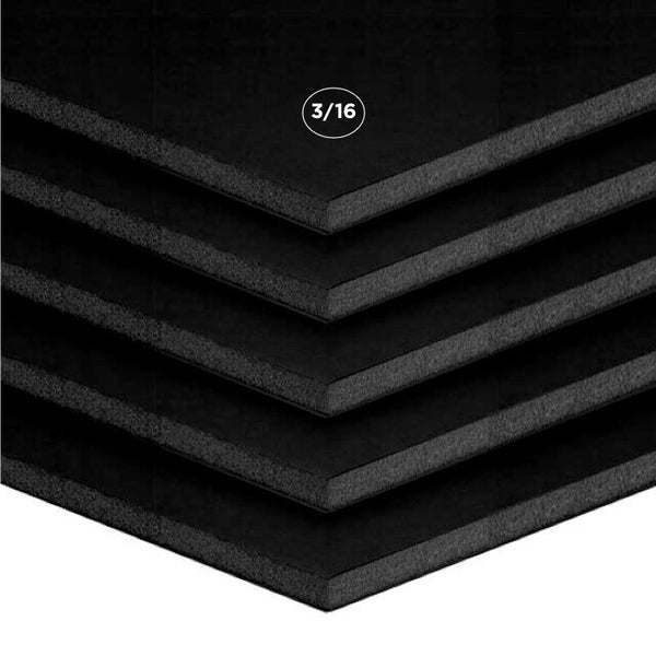 "3/16"" Black Foam Board Multi Packs"