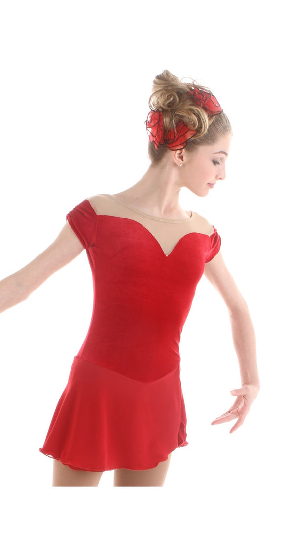Elite Xpression Gracie Gold's Red Rose Dress