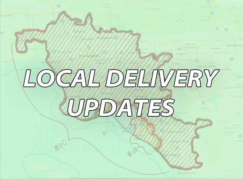 New Delivery Areas Added!