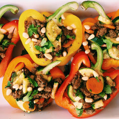 Beef Stuffed Bell Peppers Whole 30