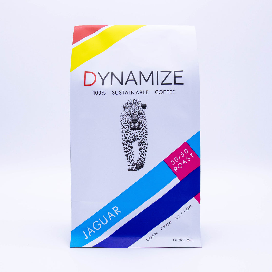 Dynamize Coffee, 12 oz - 50/50 Roast