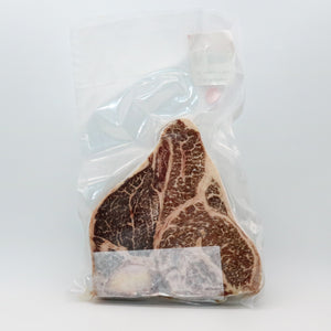 Beef Wagyu Porterhouse Steak, Bone-In, Single Pack - 1.5 lbs (24 oz+)