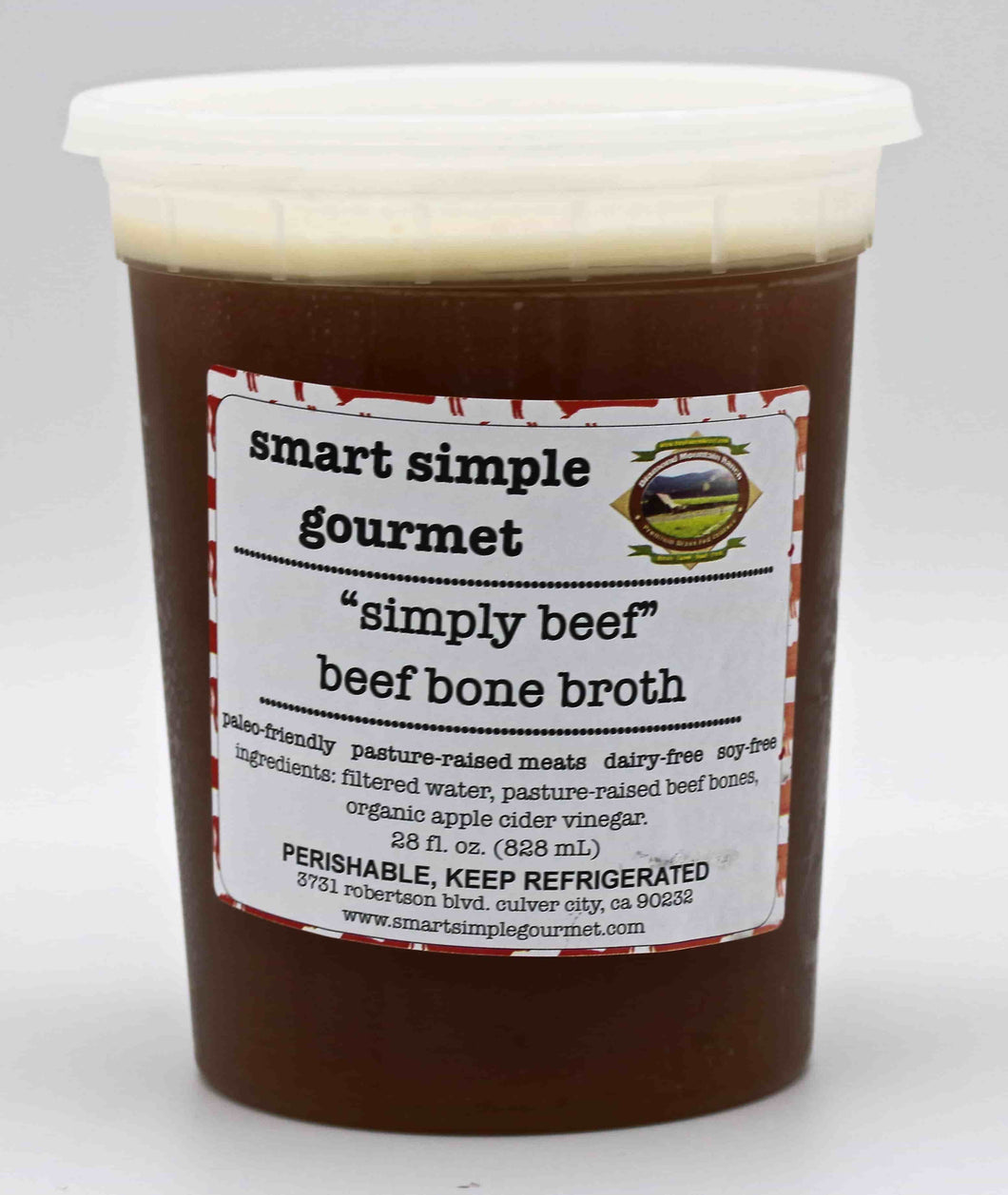 Beef Bone Broth - 28 fl OZ
