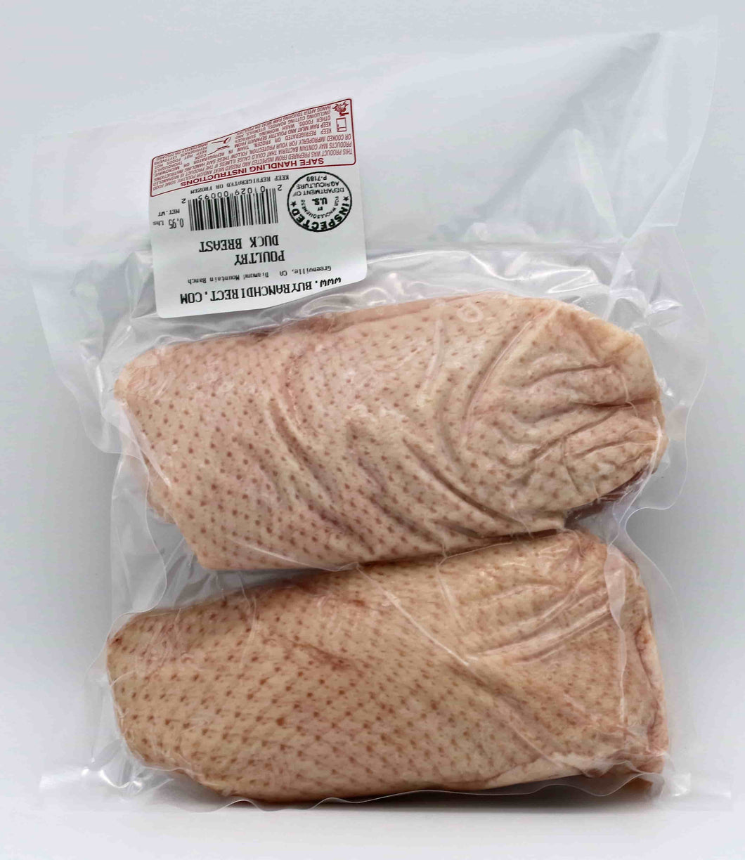- Duck Breast, Double Pack - 1.0 lbs