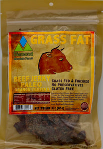 - Beef Jerky - Paleo Orange Teriyaki - 3 oz