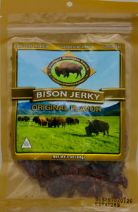 - Bison Jerky - Original