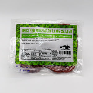 Salami Rosemary Lamb - 8 oz - Pre Sliced Pack