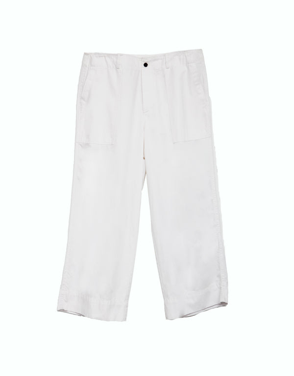 Sarge Army Pant - White