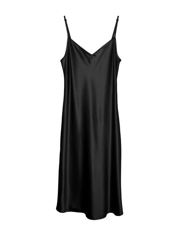 No *48 Cabaret Bias Slip Dress