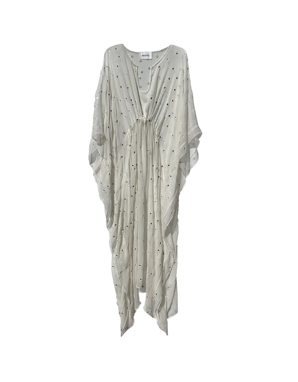 No*17 Mirrored Silk Kaftan