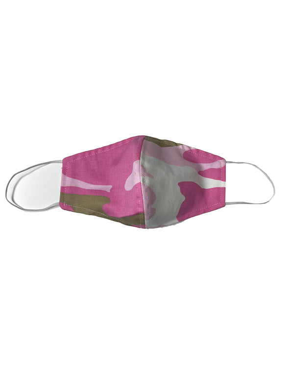 Cloth Masks -  Pink Camo