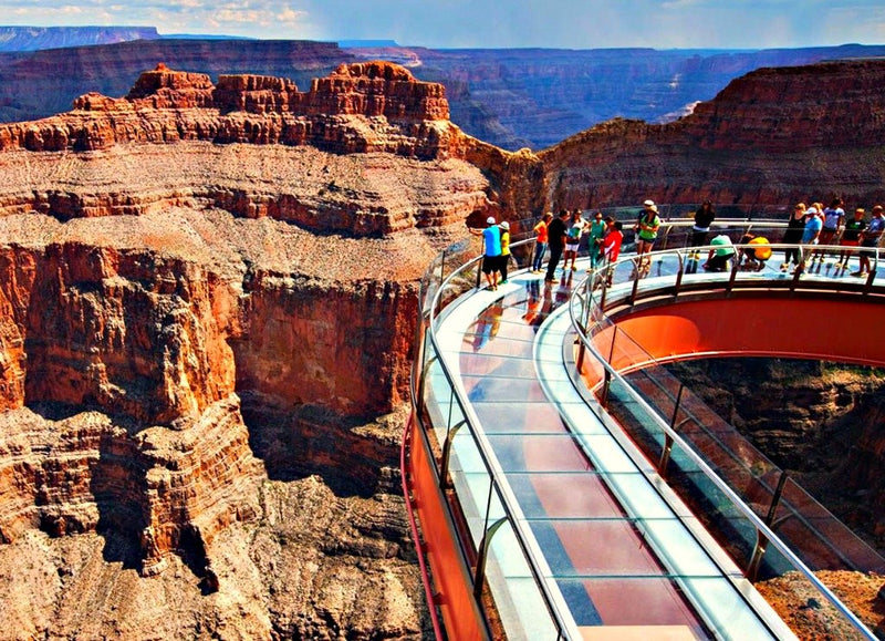 Grand Canyon West Rim Bus Tour and Skywalk Experience