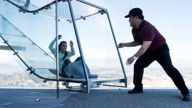 Skyspace LA Tickets including Skyslide Ride