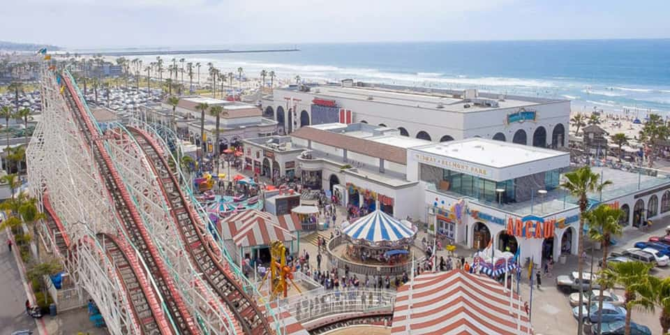 Belmont Park -  view of the beach - TLC Luxury Transportation - photo by Smart Destinations