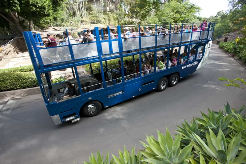 Bus Tour at the San Diego Zoo - photo courtesy Smart Destinations