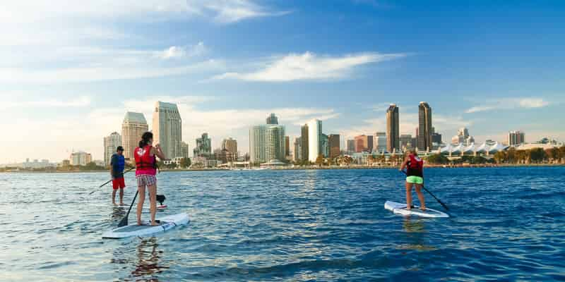 Stand-Up Paddle Boards in La Jolla and Coronado in San Diego