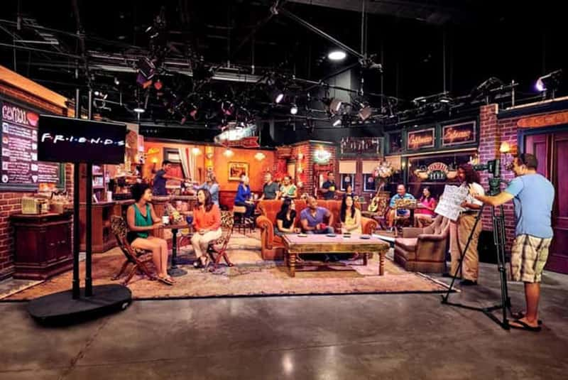 Central Perk set at Stage 48: Script to Screen