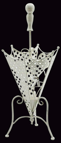 Heart Design Umbrella Stand 34cm