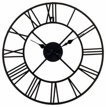 Load image into Gallery viewer, Metal Clock, Roman Numeral 40cm