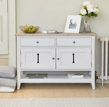 Load image into Gallery viewer, Balance Small Sideboard / Hall Console Shoe Storage Table