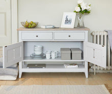 Load image into Gallery viewer, balance small sideboard hall console shoe storage table