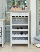 Load image into Gallery viewer, balance wine rack glass storage cabinet