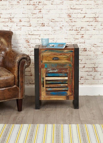 City Vibe 1 Door 1 Drawer Lamp Table