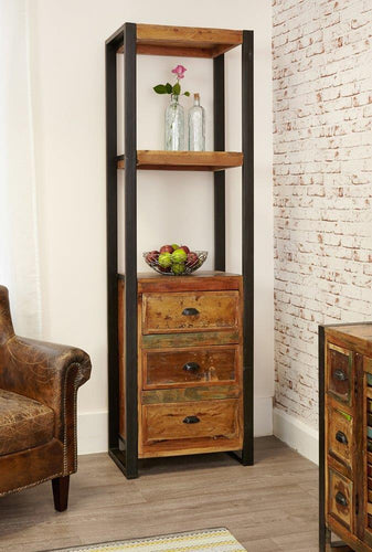 City Vibe Alcove Bookcase (with drawers)
