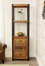 Load image into Gallery viewer, city vibe alcove bookcase with drawers