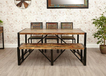 Load image into Gallery viewer, city vibe large dining bench