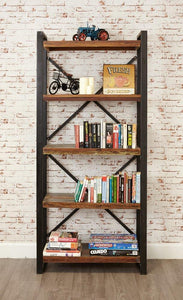 city vibe large open bookcase
